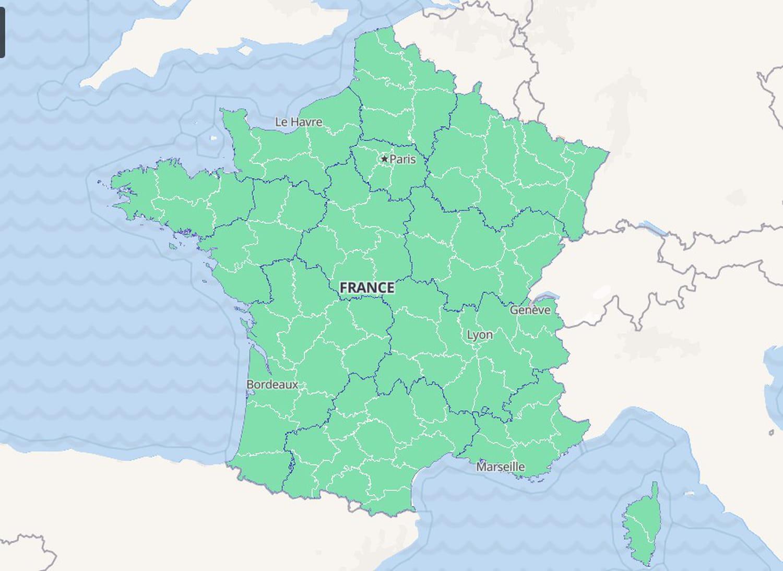 CARTE COVID: vaccination, France, voyage, Monde