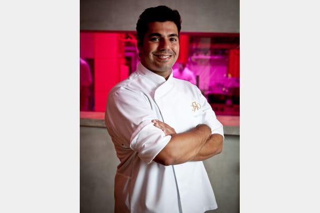 Felipe Bronze, chef du restaurant Oro, Rio de Janeiro