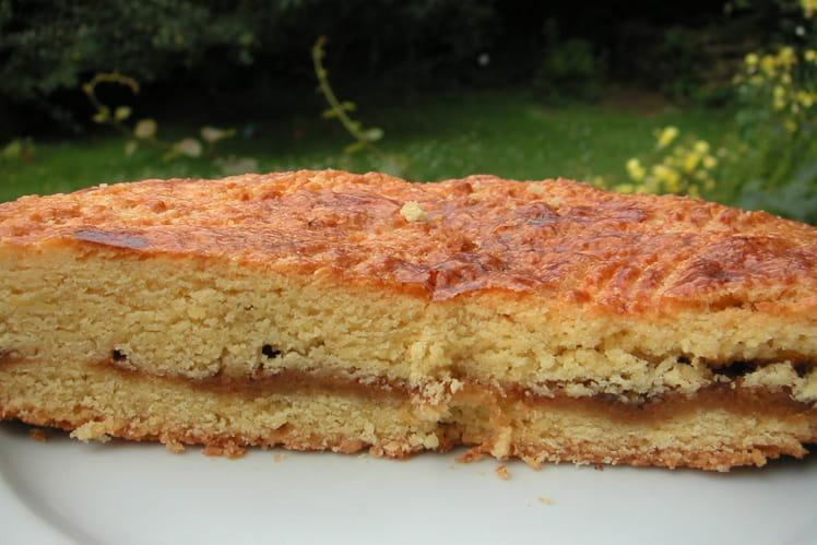 Gâteau breton à la crème de caramel au beurre salé