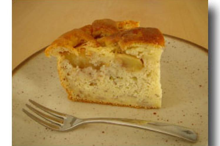 Cake à la banane et aux pommes