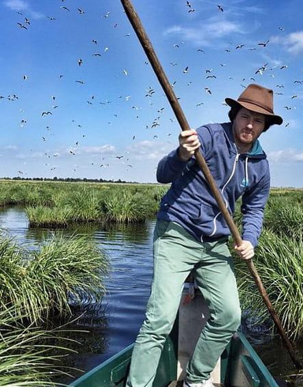 Jean Imbert, à la pêche