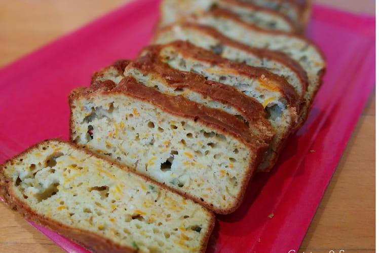 Cake aux carottes et roquefort