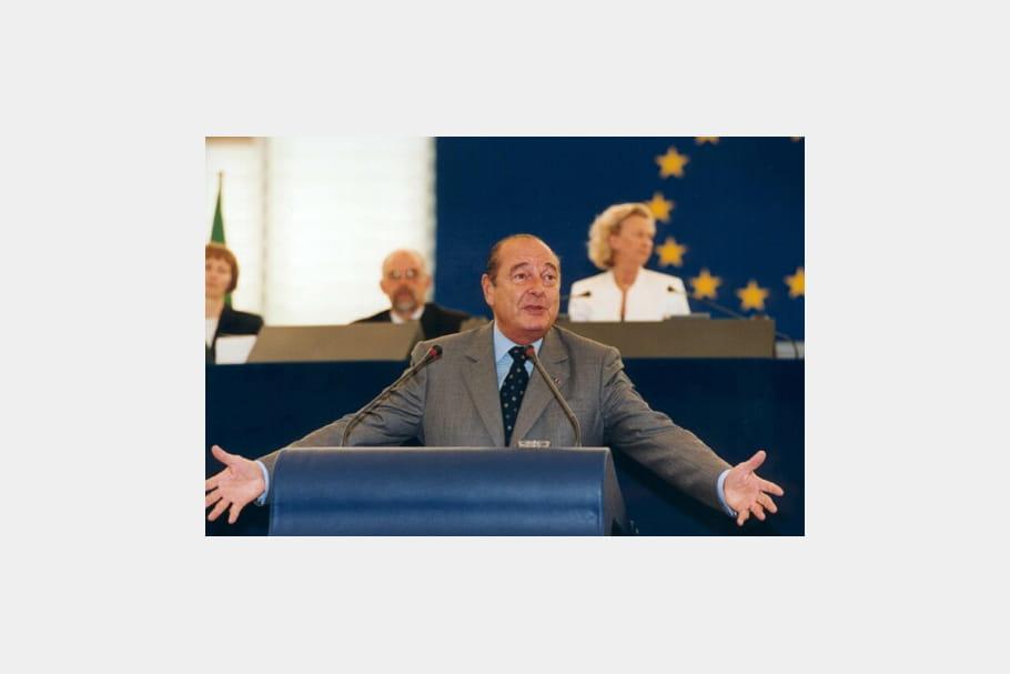 Jacques Chirac : euro-hémicycle