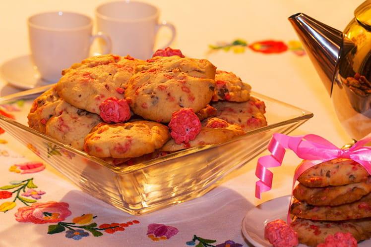 Cookies aux pralines et aux noix
