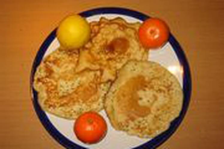 Pancake au citron