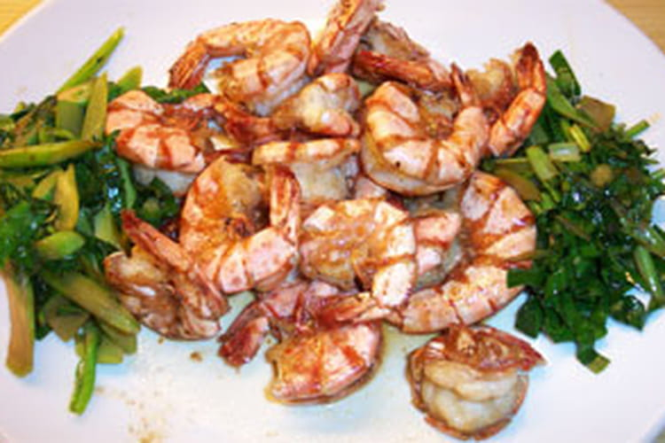 Crevettes zazou