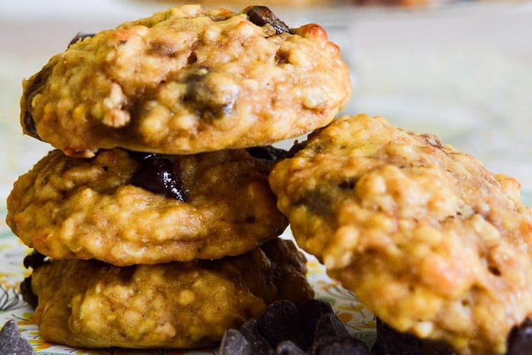 Cookies healthy banane, avoine et beurre de cacahuète