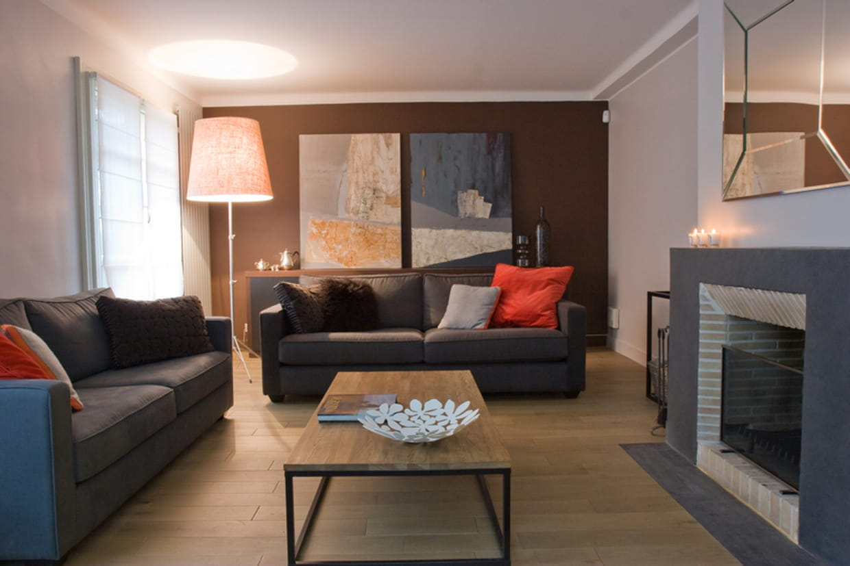 Une maison la d co contemporaine for Deco contemporaine maison