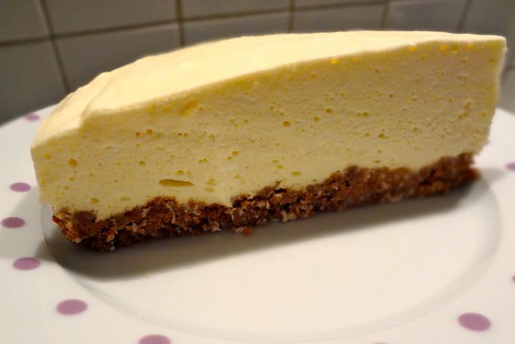 Cheesecake sans cuisson au citron