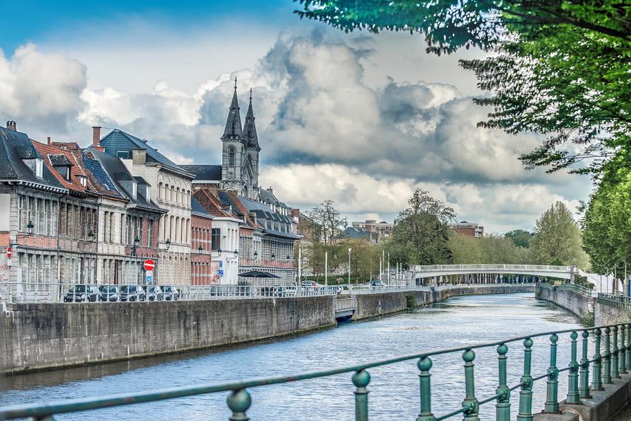 City break en famille : Tournai à vélo