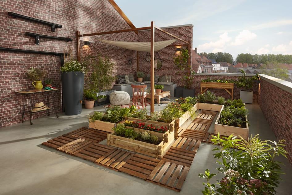 De belles tonnelles et arches de jardin pour décorer l'extérieur
