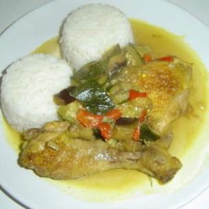 poulet colombo