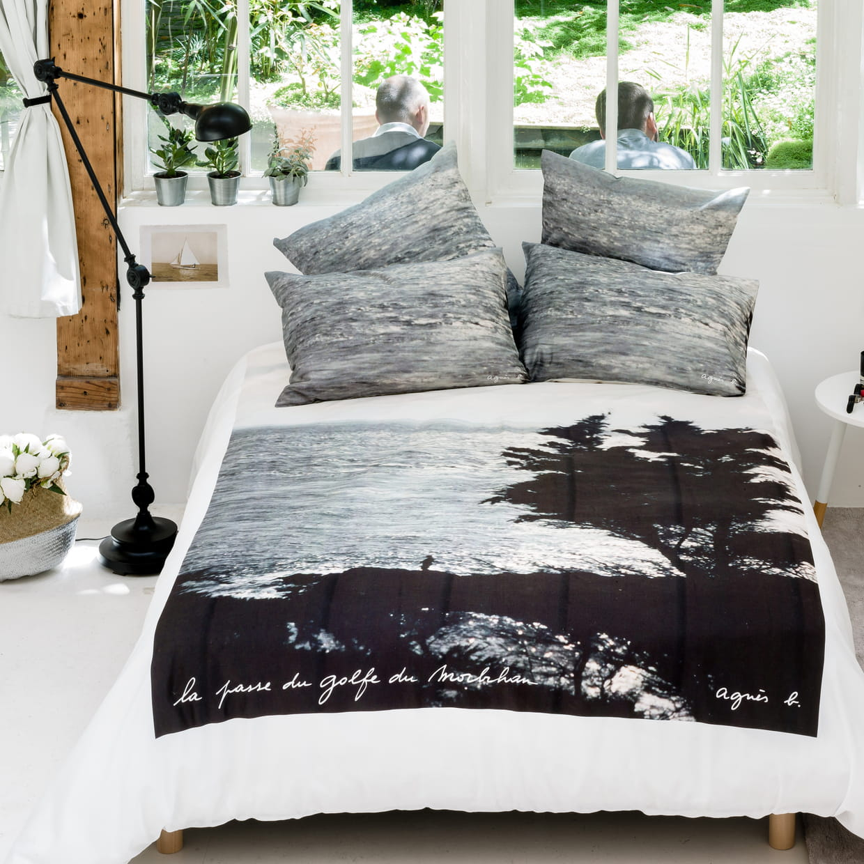 linge de lit imprim d 39 agn s b pour la redoute int rieurs. Black Bedroom Furniture Sets. Home Design Ideas
