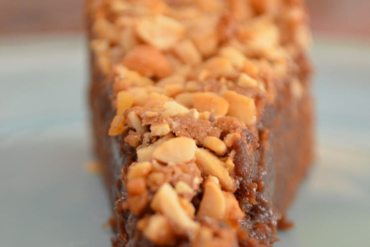 Gateau chocolat noix de cajou