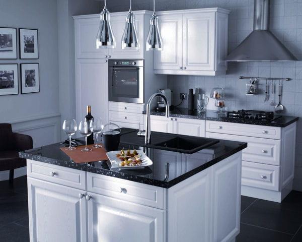 cuisine soprano de castorama. Black Bedroom Furniture Sets. Home Design Ideas