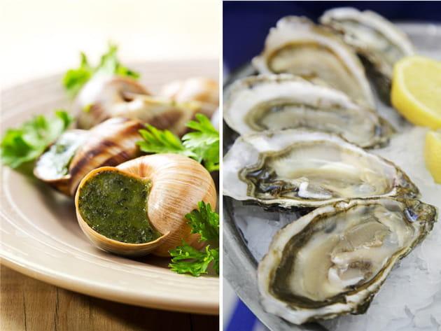 Escargots ou huîtres ?