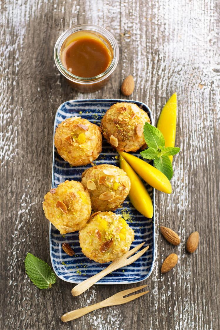 Arancini à la mangue