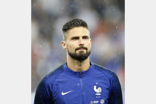 Olivier Giroud, l'attaquant des Bleus