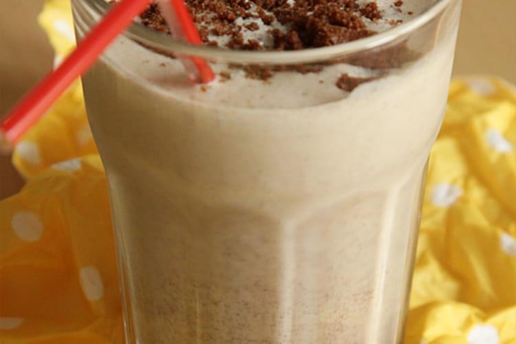 Milk-shake aux brownies
