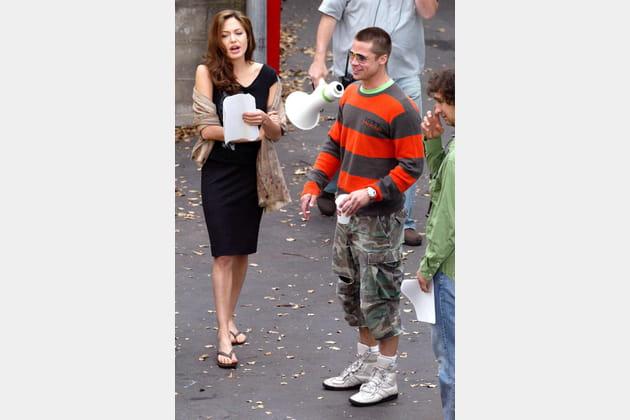 """Coup de foudre sur le tournage de """"Mr. and Mrs. Smith"""""""