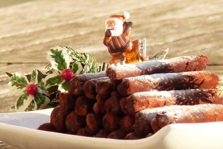 Bûchettes de Noël au chocolat