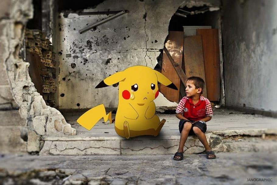 Pokémon Go : en Syrie, sauvez-les tous