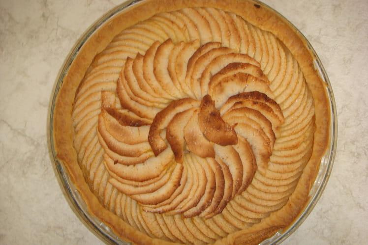 Tarte aux pommes sans chichis