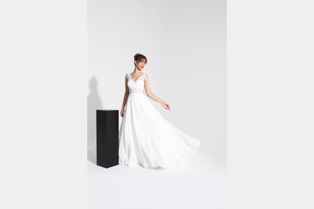 Robe de mariée Fluide, Cymbeline