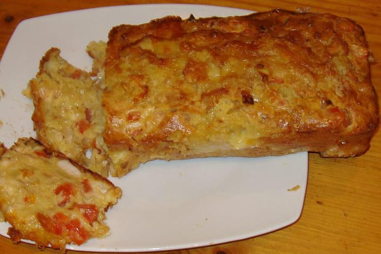 Cake au poulet et à la pomme