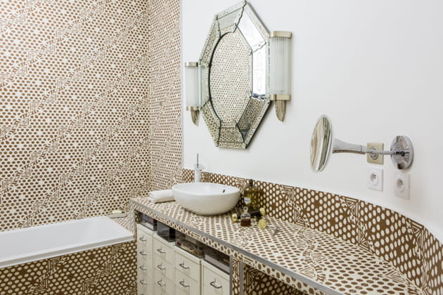Salle de bain art d co et moderne - Salle de bain art deco ...