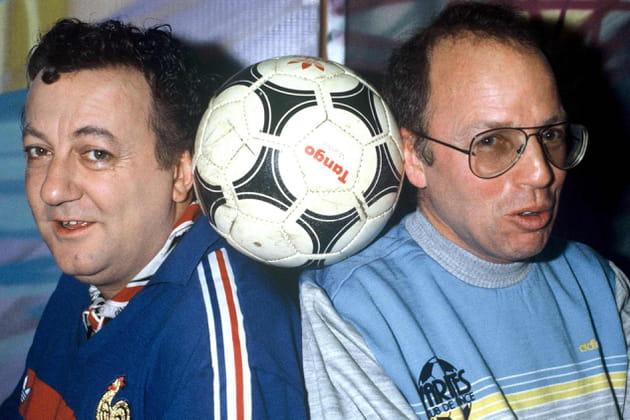 Fan de foot avec Thierry Roland