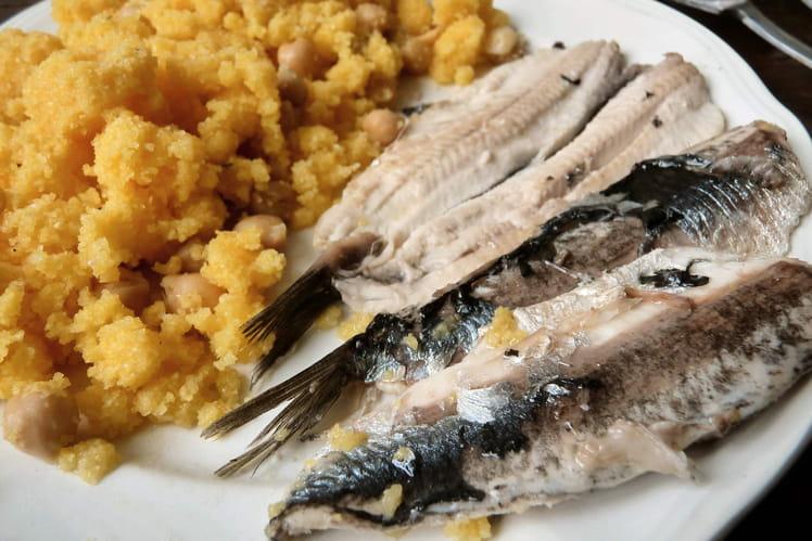 Filets d'anchois frais à l'huile de truffe