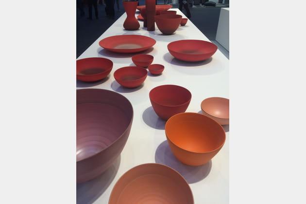 Les pièces en céramique de Rina Menardi