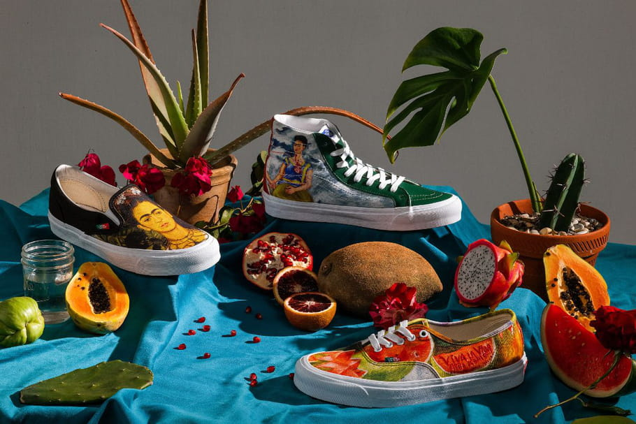 Vans lance une collection de sneakers en hommage à Frida Kahlo