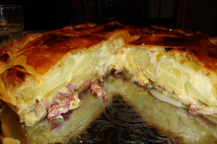 Tarte au chicon (endives)