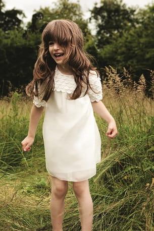 robe blanche chloé