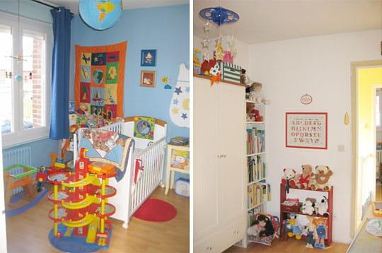chambre d 39 enfant. Black Bedroom Furniture Sets. Home Design Ideas