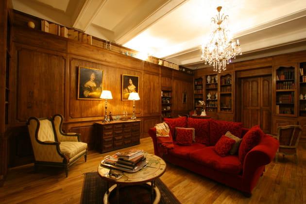 Un salon de château