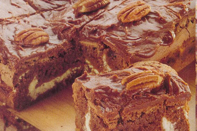 Brownies au caramel