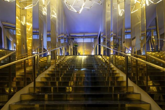 L'escalier majestueux ou le passage dans un repaire d'initiés