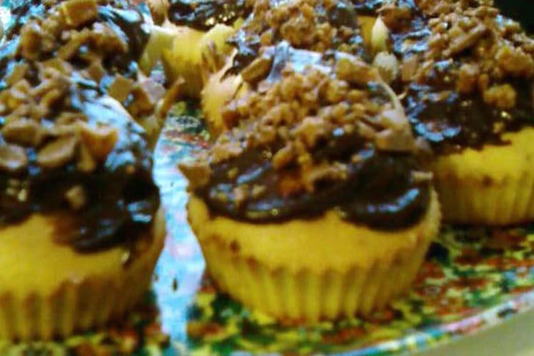 Cupcakes aux Daims