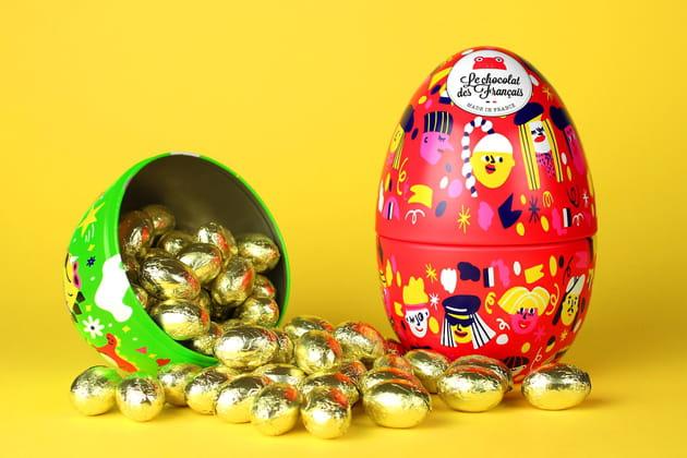 Les œufs de Dino Le chocolat des Français