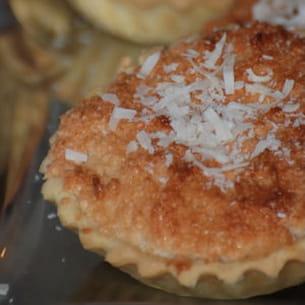 tartelette à la noix de coco