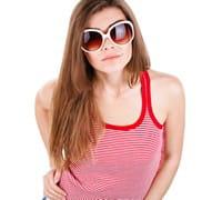 pour être protectrices, lessolaires doivent être plus larges que les lunettes