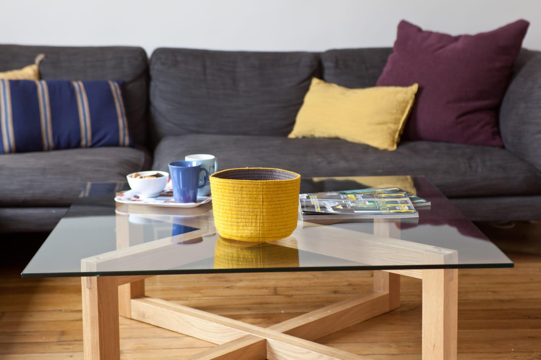Quelle est la hauteur idéale pour une table basse?