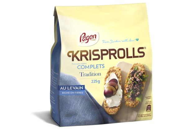 Les Krisprolls® tradition au levain