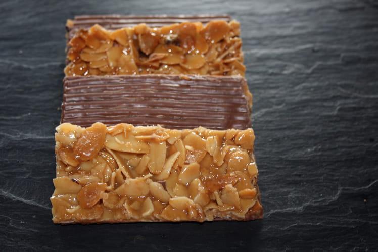 Florentins nappés de chocolat