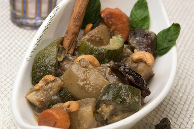 Mijoté de légumes au ras-el-hanout