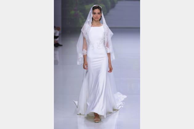 Robe de mariée chic, Ana Torres