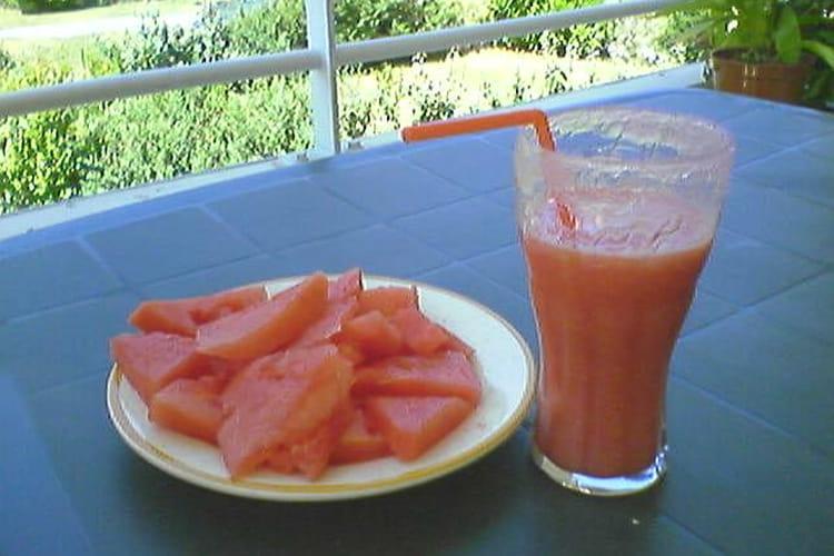 Cocktail à la pastèque